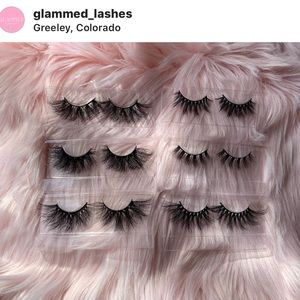 order now or check us out on IG @glammed_lashes